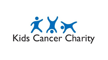 Kids Cancer Charity Kids Village (blue and black kids cancer charity)