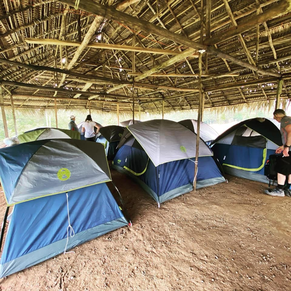 Costa Rica Challenge Kids Village (group of tents)